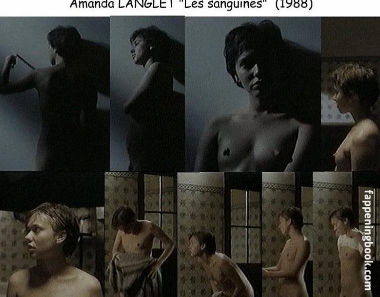 Langlet  nackt Amanda Amanda Langlet
