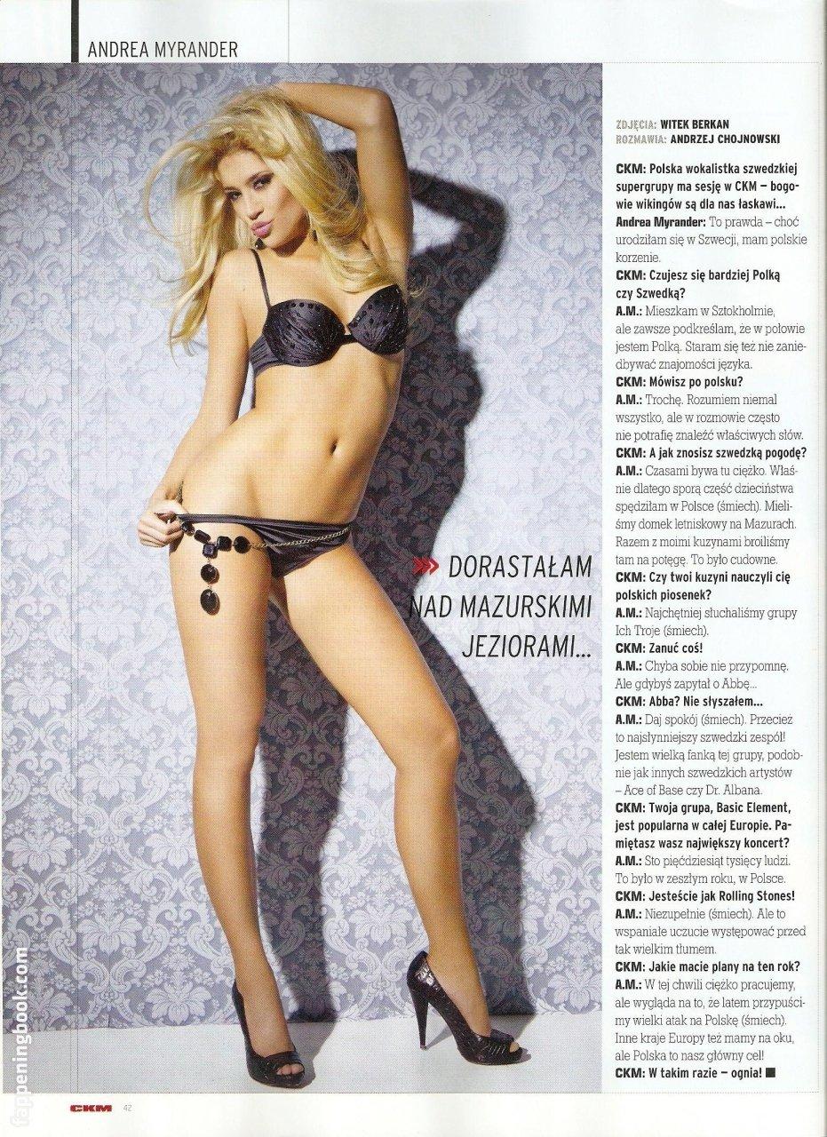 Andrea Myrander Nude