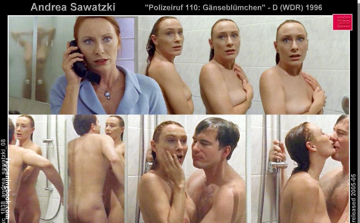 Nackt andrea sawaski Andrea Sawatzki