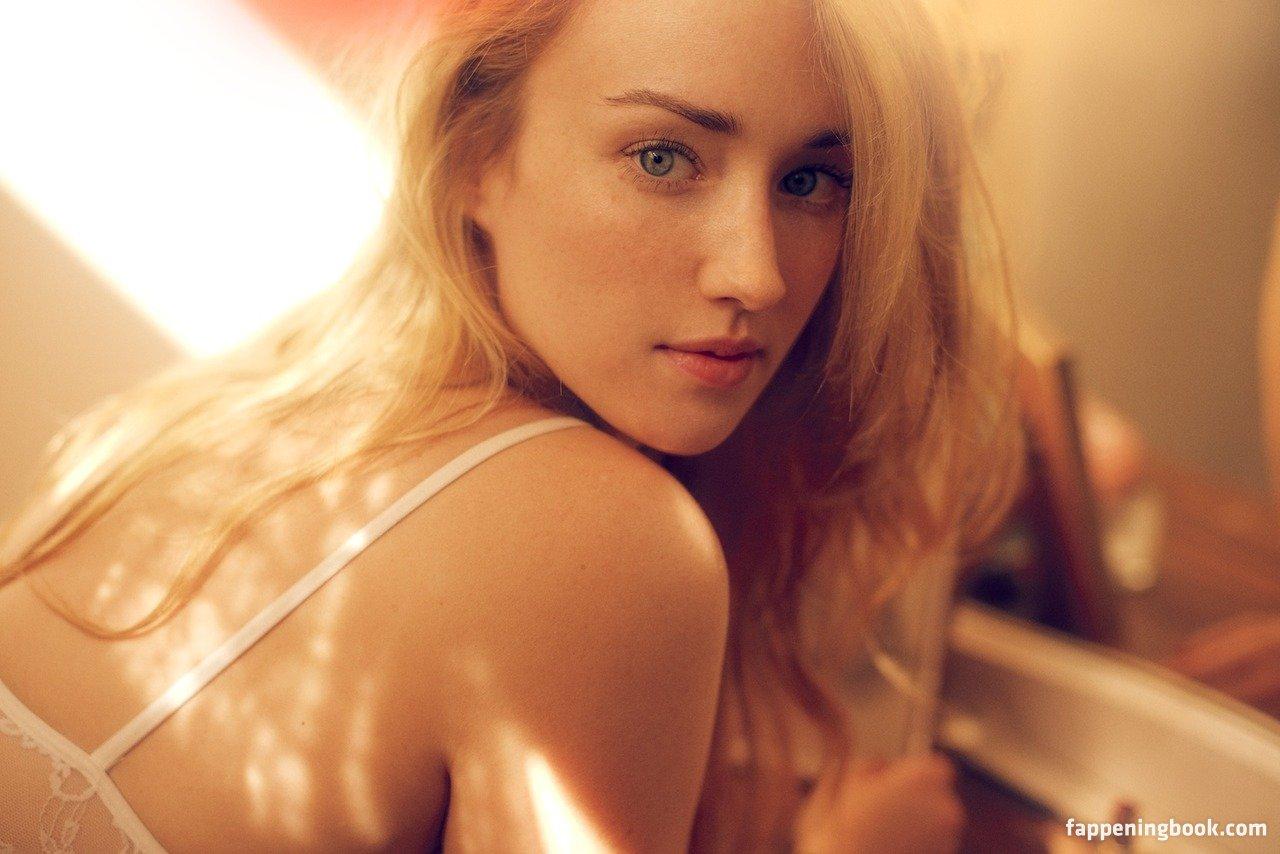 Ashley Johnson Nude
