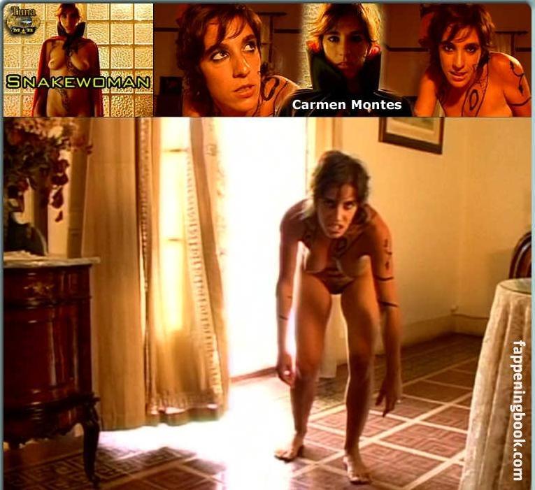 Carmen Montes  nackt