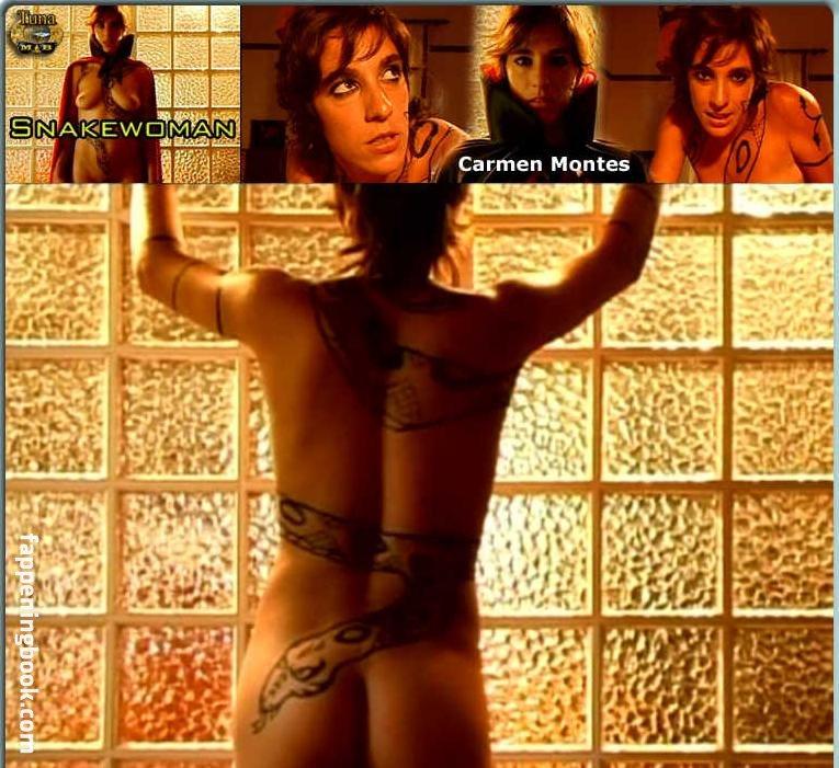 nackt Montes Carmen Nude video
