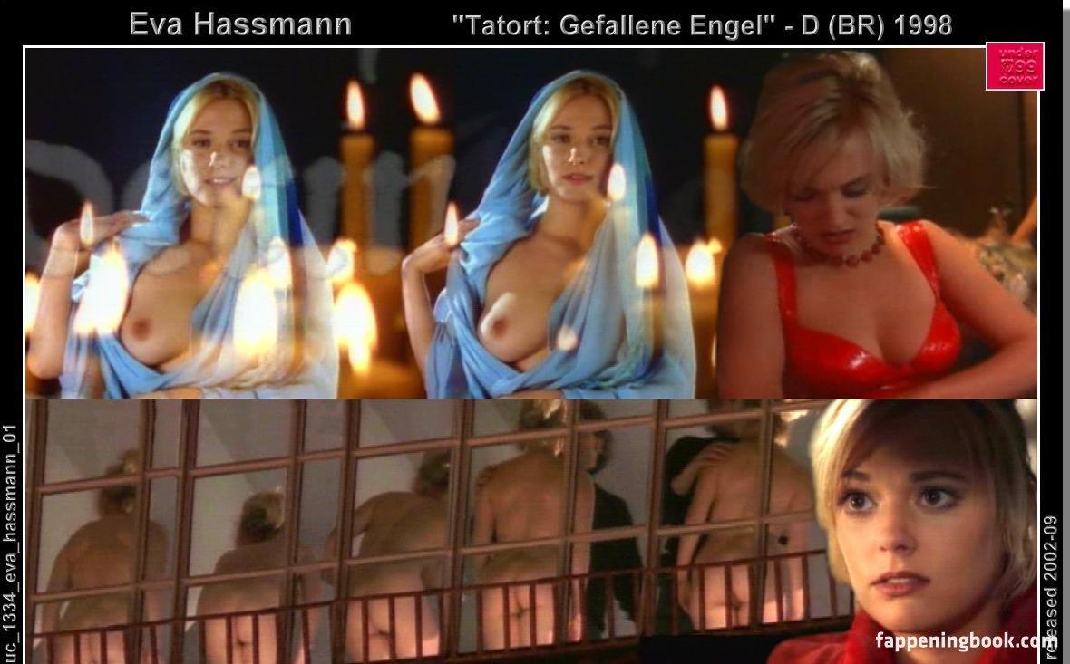 Eva Haßmann  nackt