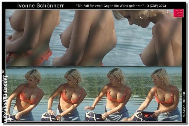 Nackt  Ivonne Schoenherr Who is