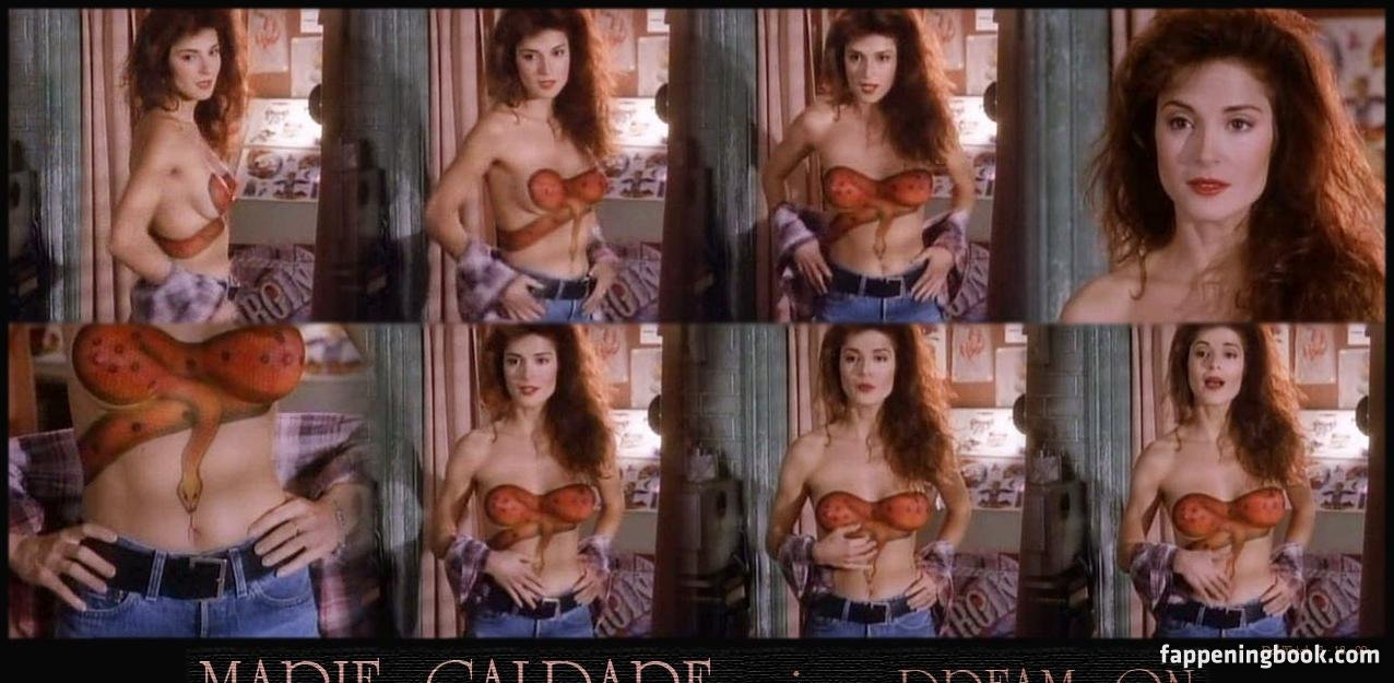 Marie Caldare  nackt
