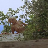 Marie-Pierre nackt Castel Brookelyn naked
