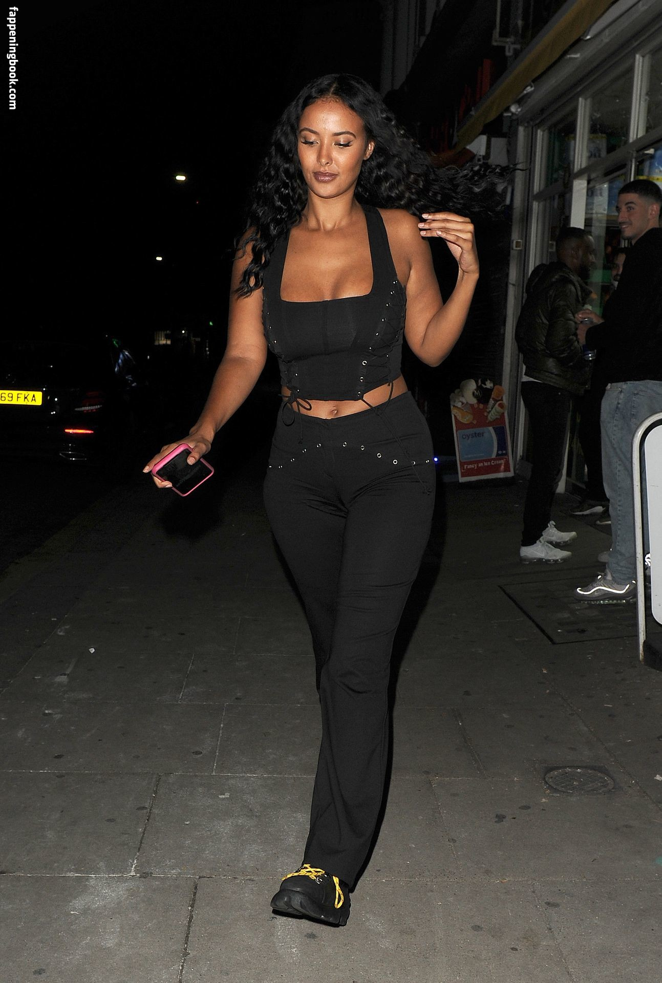 Maya Jama Cleavage - The Fappening Leaked Photos 2015-2020