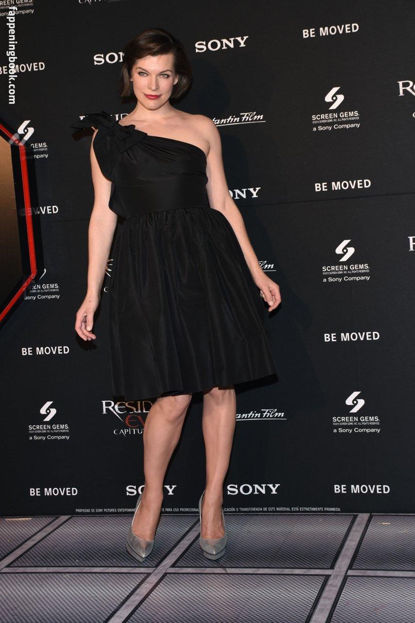 Milla Jovovich Nude, Fappening, Sexy Photos, Uncensored
