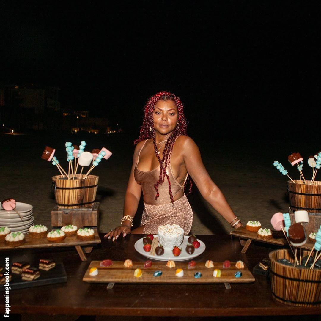 Taraji P. Henson Las Vegas Celebrity Beautiful Babe Posing