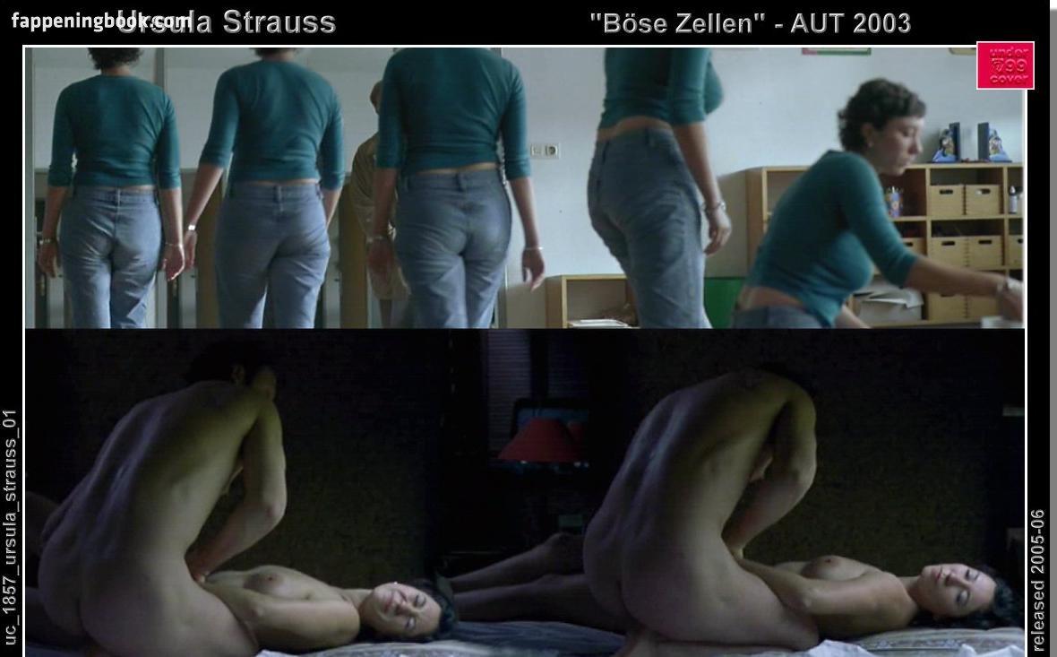 Nackt ursula/strauss Ursula Strauss